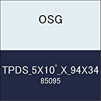 OSG テーパーエンドミル TPDS_5X10゚_X_94X34 商品番号 85095