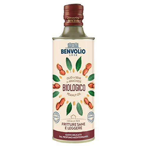 BENVOLIO 1938 Aceite de Cacahuete Ecológico - 500ml - ESTAB