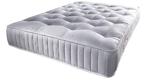 Mattress Haven Pocket Sprung Tufted Mattress - 2000 Springs - Medium/Firm 3FT - Single
