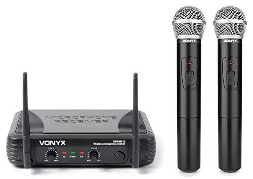 Vonyx 179183 - STWM712 VHF Funkmikrofone
