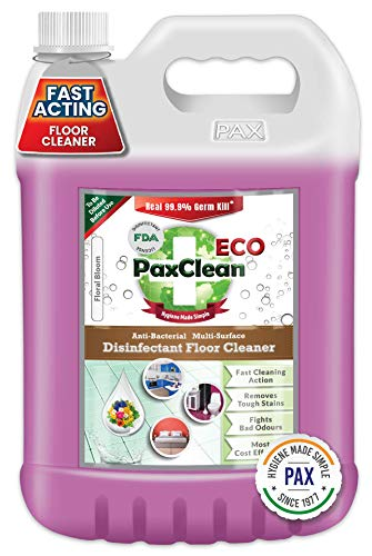 PaxClean ECO Multi Surface Disinfectant Floor Cleaner (Floral) 5L
