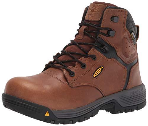 "KEEN Utility Men's Chicago 6"" Composite Toe Waterproof Metatarsal Guard Work Boot Construction"