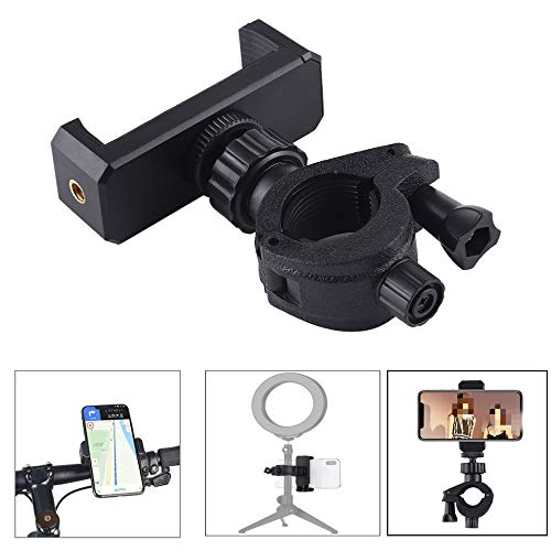 MHBY Bicycle Phone Holder, Mobile Phone Holder Ring Light Tripod Photography SLR Camera Bicycle Mobile Phone Holder Mobile Phone Holder Bracket Bracket | Mobile Phone Holder and Bracket.