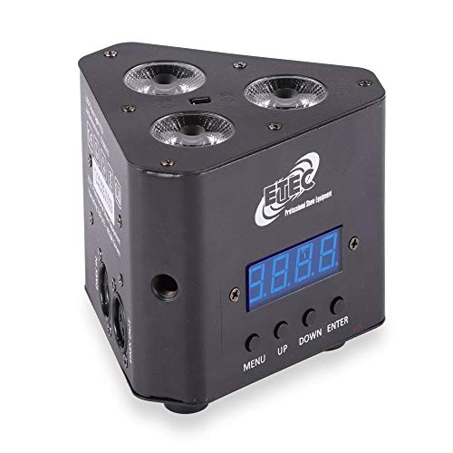 ETEC LED Truss Light TL3 Uplight RGBW Scheinwerfer Traverse Floorspot DJ Disco