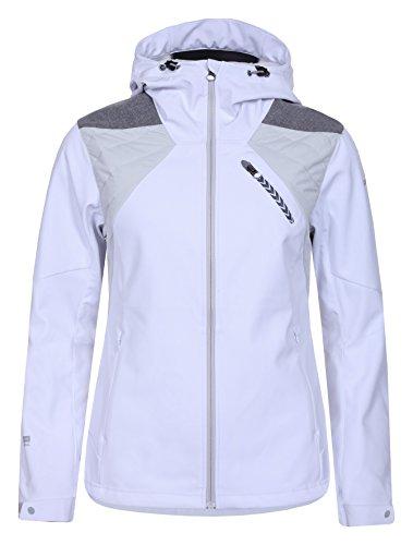 Icepeak Damen LILJAN Softshell Jacke, weiß, 36.0