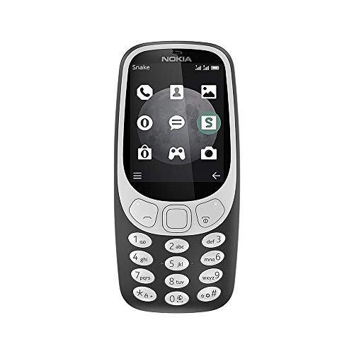 Nokia 3310 3G - Unlocked Single SIM Feature Phone (AT&T/T-Mobile/MetroPCS/Cricket/Mint) - 2.4 Inch...