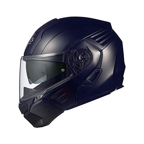 オージーケーカブト(OGK KABUTO)バイクヘルメット システム KAZAMI フラットブラック L (頭囲 59cm~60cm)