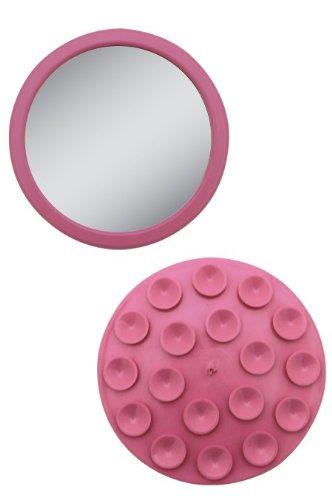 EZ-Grip - Petit miroir grossissant 12x - Couleur: Rose