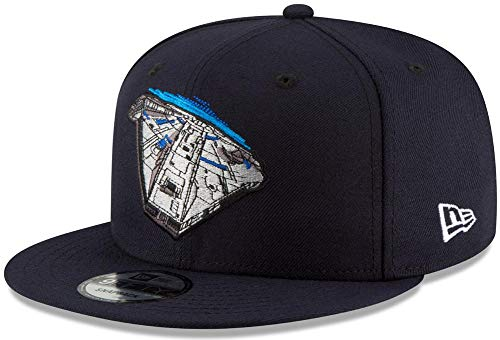 New Era Star Wars Falcon Navy Snapback Cap 9fifty 950 OSFA Limited Exclusive Edition