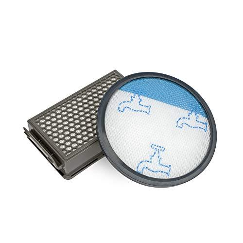 MIRTUX Filtre HEPA et filtre en mousse compatibles pour aspirateur Rowenta modèles Compact, Power et Cyclonic.