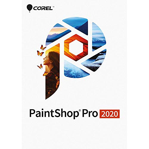 Corel PaintShop Pro 2020 - Photo Editing and Graphic Design Software [PC...