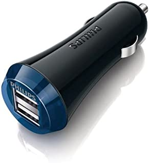 Philips Ultra Fast Dual Car Charger DLP2257/10 Black