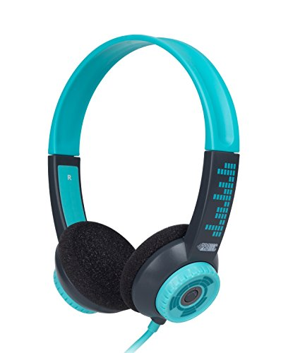 FSL Protec Kids Headphones with Adjustable Volume Limiting (Blue)