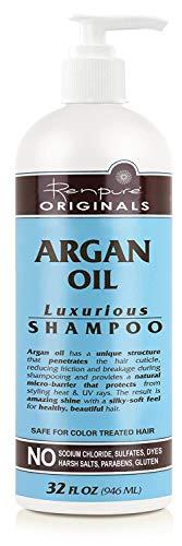 RENPURE Originals Argan Oil Luxurious Shampoo, 32 Ounce