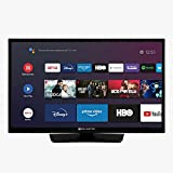 EAS Electric | E24AN70 | Televisor Negro | Televisión 24 Pulgadas | Smart TV | LED (ELED) | HD Ready 1366 x 768 16:9 | DVB-T/T2/C/S/S2 HEVC | WiFi | Android TV | Google Cast | USB 2 | HDMI 3