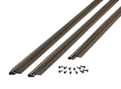 M-D Building Products 01677 Flat Profile Door Jamb Weather-Strip Kit with Screws, Bronze