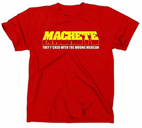 Machete Kult T-Shirt Planet Terror Grindhouse, Rodriguez Tarantino rot M