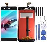 Teléfono Celular Pantalla LCD y Conjunto Completo de digitalizador para Elephone P8 Mini Piezas de Repuesto de teléfono (Color : Black)