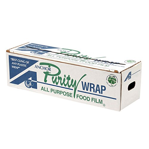 """Purity Wrap PW182 Anchor Packaging 7313182 Premium Foodservice Film 18"""" x 2000"""