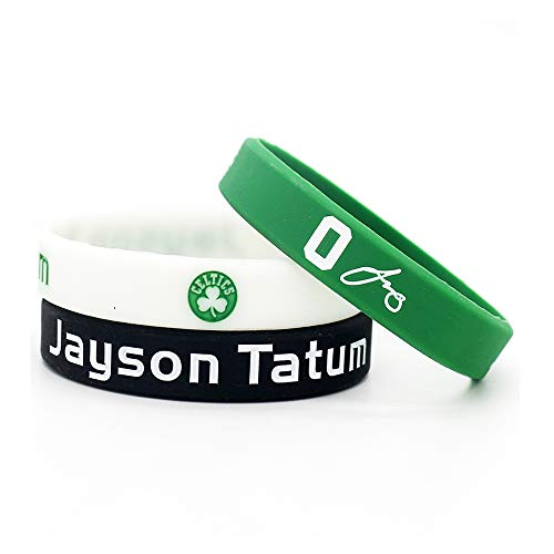 Lorh's store Bracciale in Silicone Sportivo Ispirato alla Stella del Giocatore di Pallacanestro della NBA (Jayson Tatum)