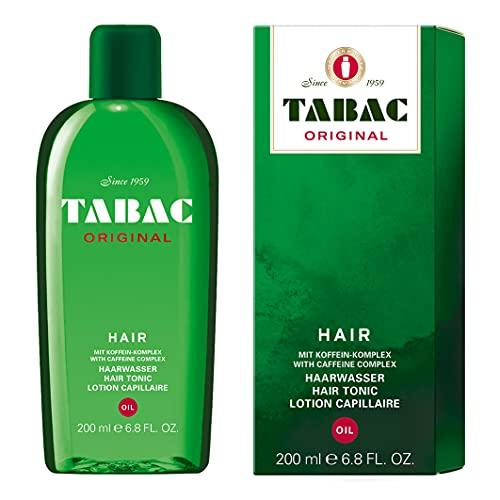 Tabac® Original   Haarwasser Oil - belebt die Kopfhaut - macht trockenes Haar weich und geschmeidig - Original Seit 1959   200ml