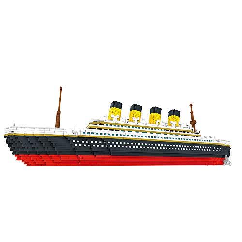 Carrfan- 9913 Model Titanic Atomic Building Blocks Kit 3800pcs Gift Toy for Kids
