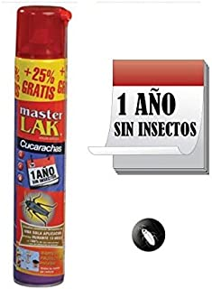 Masterlac Aerosol para eliminar Hormiga abeja - Efecto Fulminante - 1 año sin Hormiga - Bote con...