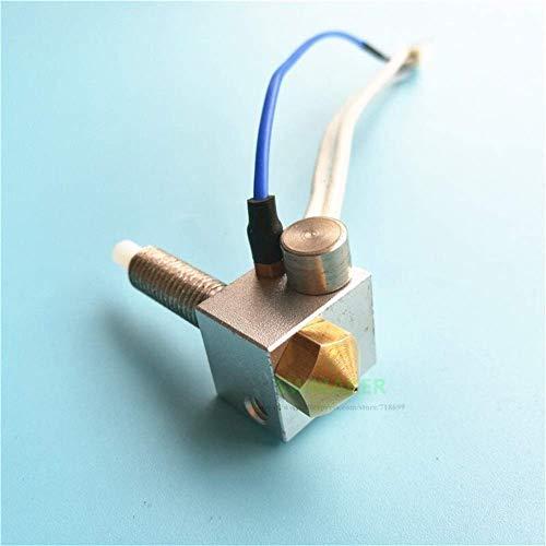QOHFLD Accesorios de Impresora Finder hotend Kit + Cartucho de Calentador de 12 V / 24 V + Conjunto de termopar Piezas de Impresora 3D Componentes de extrusoras (tamaño: 12 V) (Size : 24V)