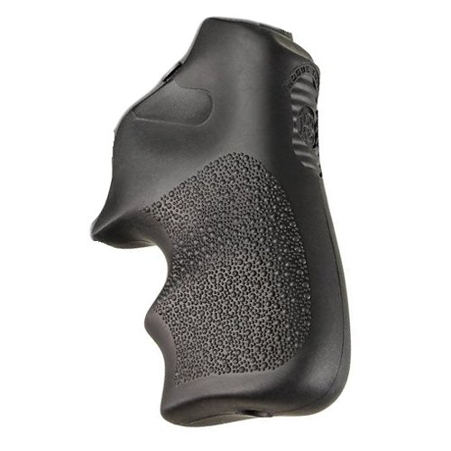 Hogue 78020 Ruger LCR Finger Groove Rubber Tamer Cushion Grip Black
