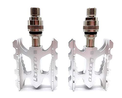 BMWY Pedal de liberación rápida Brompton Pedal de Aluminio de aleación de...