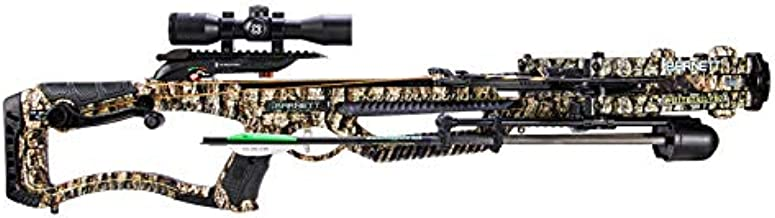 Barnett Whitetail Pro STR Crossbow with Crank Cocking Device | Elite Crossbow with Enhanced Safety Features, Scope, Arrows, Quiver & CCD