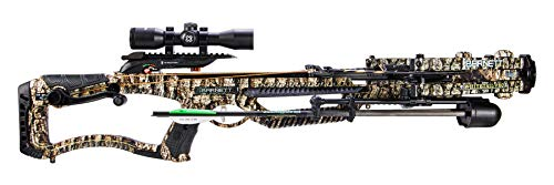 Barnett Whitetail Pro STR Crossbow with Crank Cocking Device   Elite Crossbow with Enhanced Safety Features, Scope, Arrows, Quiver & CCD