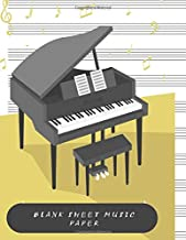 Blank Sheet Music Paper: HUGE Music Manuscript Paper Notebook, Designed For Songwriters and Musicians, Lyric Diary and Manuscript Paper, 500 Pages!