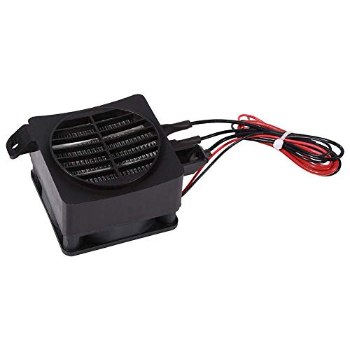Calentador PTC, calentador de aire de ventilador de coche PTC de ahorro de energía de 100 W 12 V, calentadores de elementos de calefacción de temperatura constante