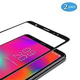 TAMOWA [2 pièces] Verre Trempé pour Samsung Galaxy A6 2018, Couverture Complète...