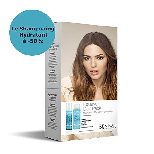 Pack Duo Revlon Equave Spray 2 Phasen nahrhaft 200 ML + Feuchtigkeitsspendendes Shampoo 250 ML