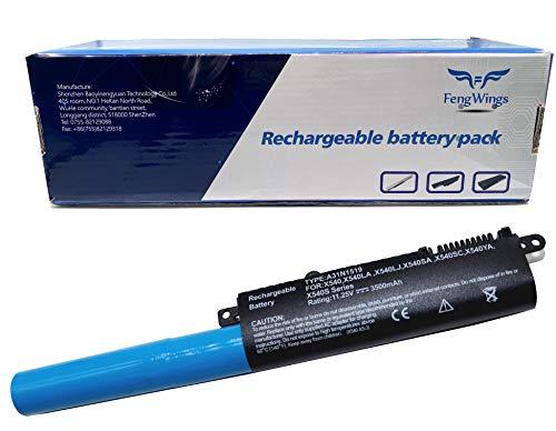 FengWings® 11.25V 3500mAh A31N1519 a31n1519 bateria reemplazar por ASUS r540l akku ASUS x540l akku ASUS X540 X540LA X540LJ X540SA X540YA X540S F540 F540L F540LA F540S F540Y R540 R540LA R540S R540Y