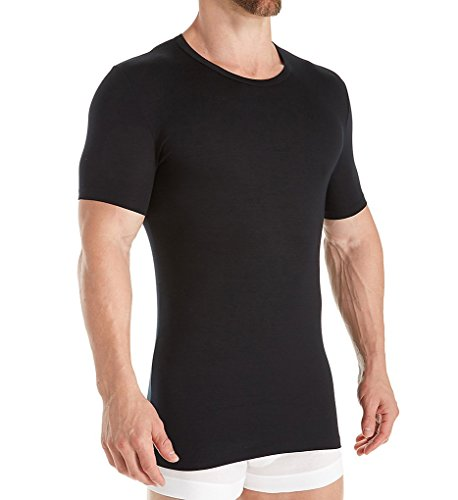 Zimmerli Pureness Shirt 7001399 Modal Herren Underwear (XL, Black)