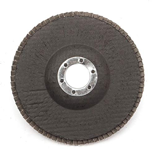 Amazing Deal Multitool Sanding Kits 40/60/80/120 Grit Grinding Wheel Flap Disc 125mm 5 Inch Angle Gr...