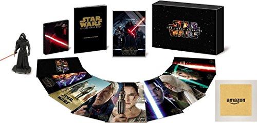 【Amazon.co.jp限定】スター・ウォーズ/フォースの覚醒 MovieNEXプレミアムBOX [ブルーレイ+DVD+デジタルコピー(クラウド対応)+MovieNEXワールド] DVDパッケージ付 [Blu-ray]