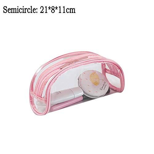 YCBHD Trousse de maquillage pour femme en PVC transparent étanche pour maquillage de voyage