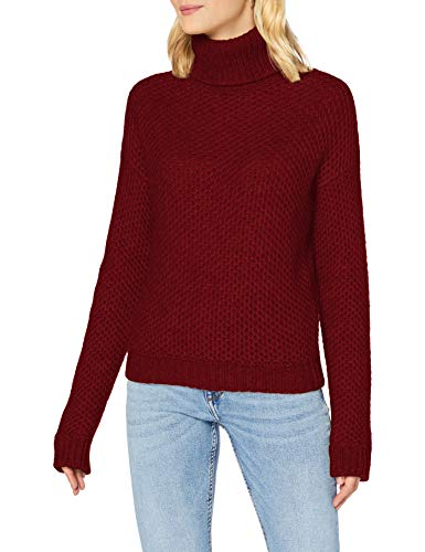 BOSS C_Fullam Suéter pulóver, Bright Red620, L para Mujer