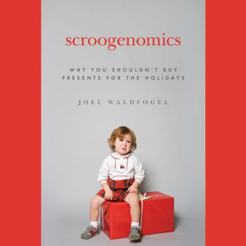Scroogenomics audiobook cover art