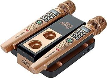 2021 New Magic Sing E5+ 5000+ Tagalog English Builtin songs + WIFI Karaoke Two Wireless Mics 12K English +1 Year Subscription for Tagalog Hindi Spanish Russian Vietnamese Japanese Korean songs