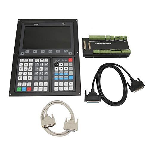 Jadpes CNC-Steuerungssystem, 1024 x 600 10,2 Zoll Multi-Prozess-Display-Schneidemaschine Support-Controller Handrad Remote Handheld Offline für CNC-Router/CNC-Gravierfräsmaschine(#1)