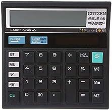 $39 » WZWHJ Computer 12-Digit Battery Dual Power Large Display Office Desktop Calculator