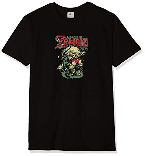 Texlab - Legend of Zombie - Herren T-Shirt, Größe M, schwarz
