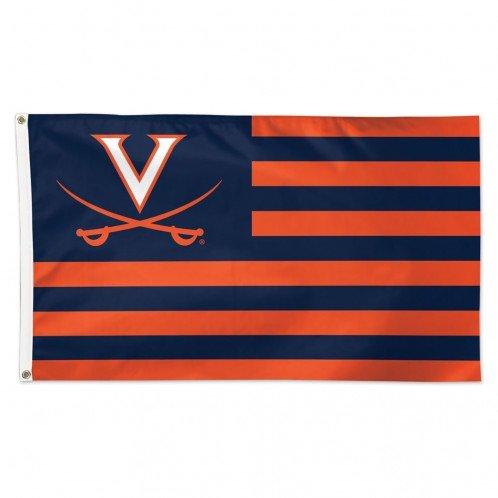 WinCraft University of Virginia Cavaliers NCAA American Flag 3 x 5 Foot