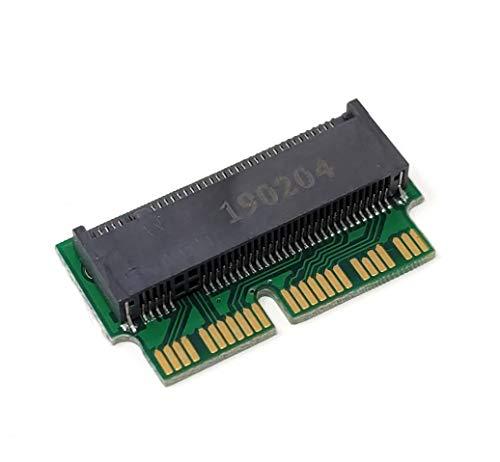 System-S 12 + 16Pin zu M.2 NGFF M Key SSD Konverter Karte für A1493 A1502 A1465 A1466 für MacBook (2014 2015)