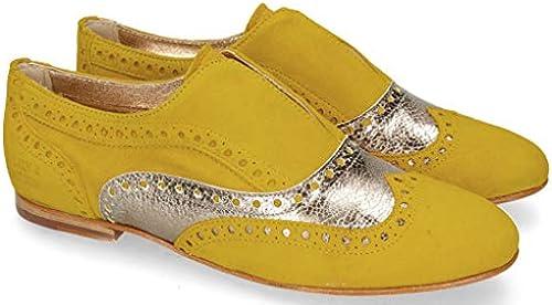 Melvin & Hamilton Sonia Sonia Sonia 1 Parma Suede Gelb  wunderschönen